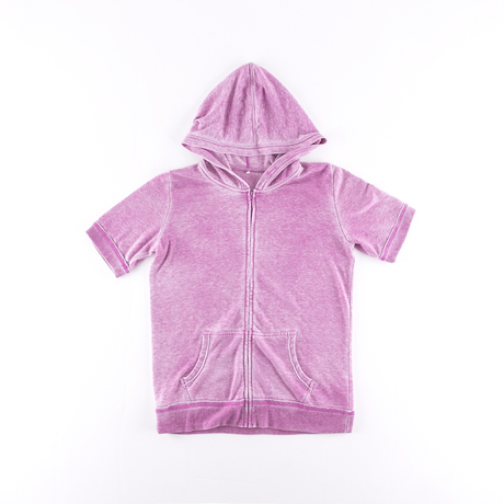 Short Sleeve T-shirt with hood
