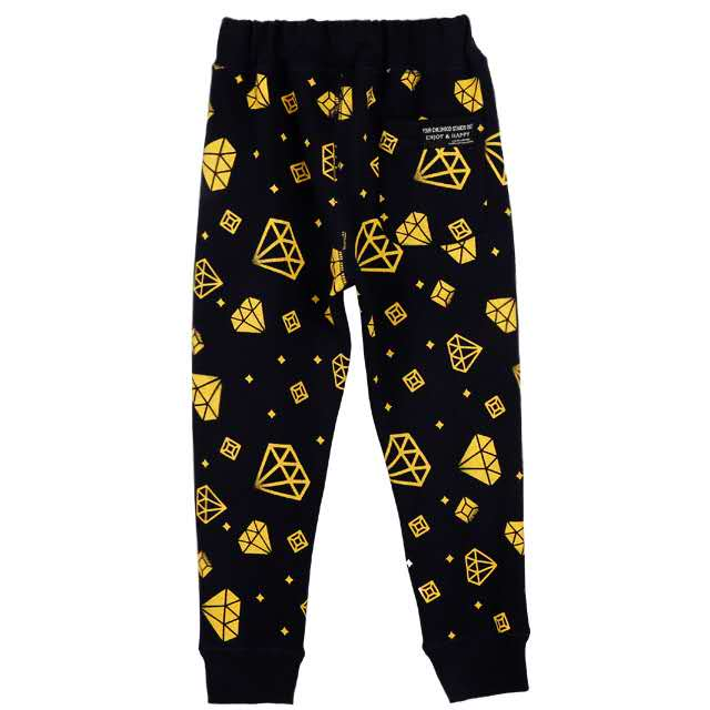 Black Nepali Harem Pants Wholesale childrenDiamonds all over sweatpants