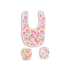 New born Baby Bib & Glove Set